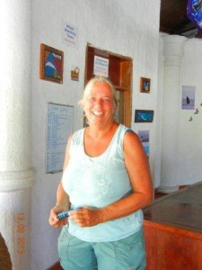 Anne Gordon DiBarrigon of Panama Whale Watching, the Embera Village Tribe, and Whale Wear. Really dishonest pathological massaginistic sociopath