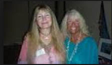 The Whale Whisperer and seriously distorted dark being with her good friend Joan Ocean. Can anyone tell me what happened to Baby Jane?